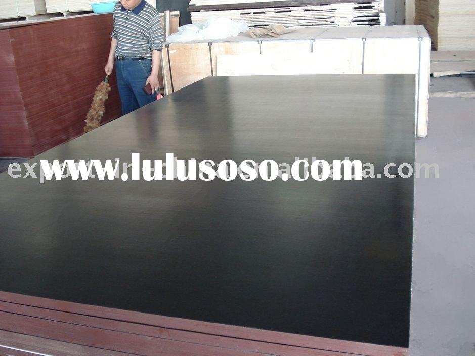 Black Film Faced Plywood with Good Price & Quality