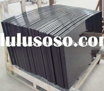 Black Granite Countertops,Shanxi Black Bowed Tops,Absolute Black Countertops