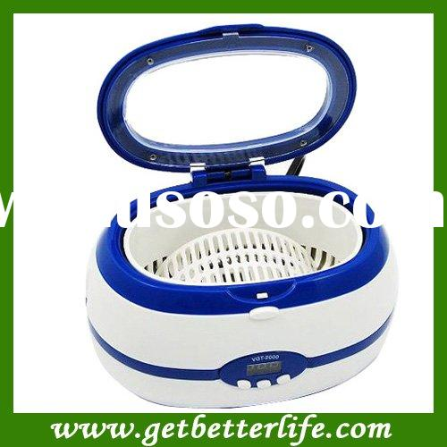 Blue Mini-Household Ultrasonic cleaner for Watch Jewelry Diamond with Stainless Steel Tank