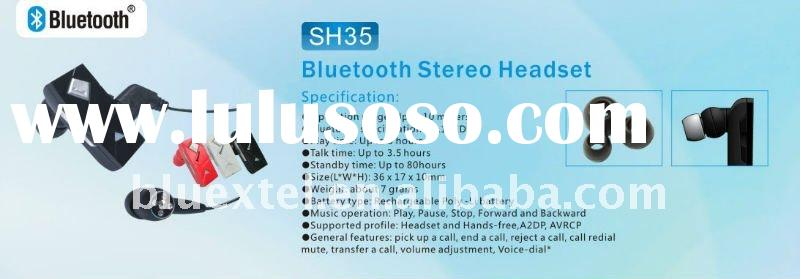 Bluetooth headset Stereo for Mobile phones