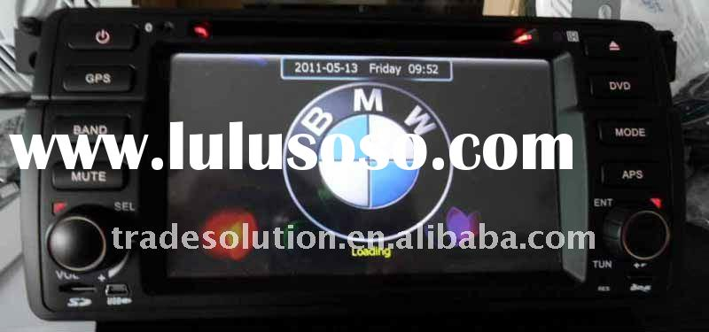 Car DVD Player with GPS HD Screen Bluetooth Steering Wheel Control support for BMW E39 E53
