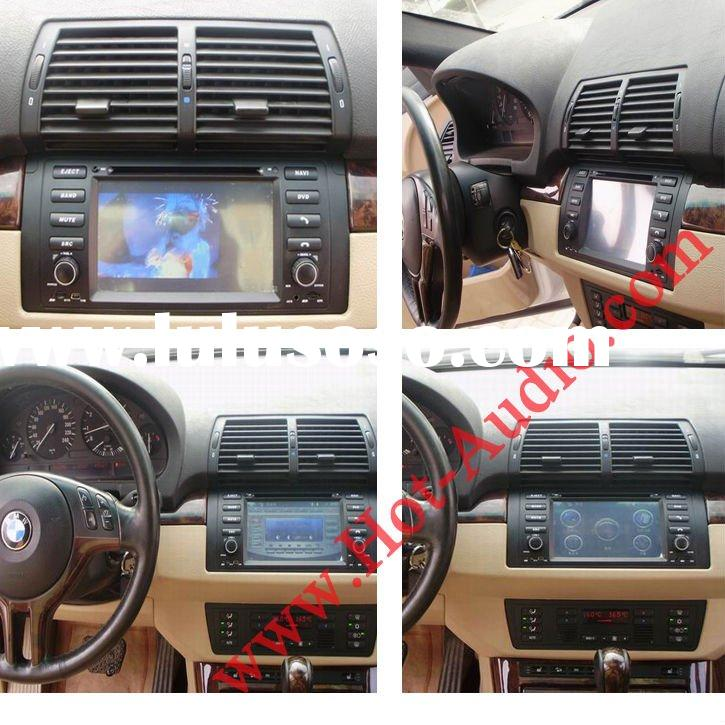 Car DVD player for BMW E39 E53 X5 DVD gps bluetooth radio TV touch screen