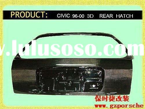 Carbon Rear Hatch for 96-00 CIVIC Hatchback