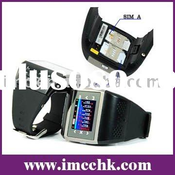 Cell phone watch,Dual SIM Watch Cell phone (Q8)