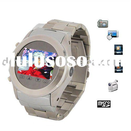 Cheap Sell Stainless Steel W360 Watch phone with MP3,MP4,Camera,Bluetooth