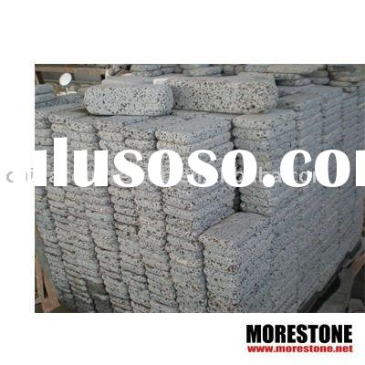 China black basalt tumbled cube stone , black basalt tumbled paver stone , black basalt tumbled pavi