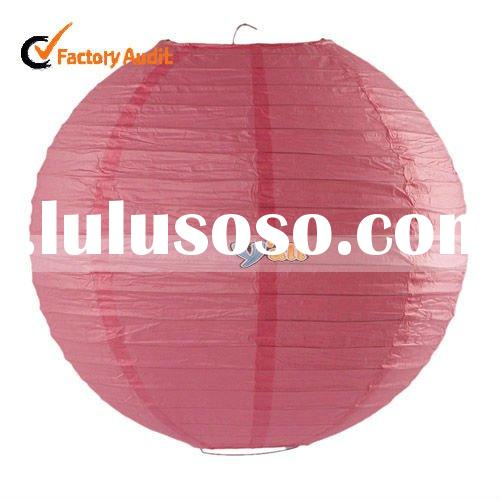 Chinese paper lantern wedding decoration