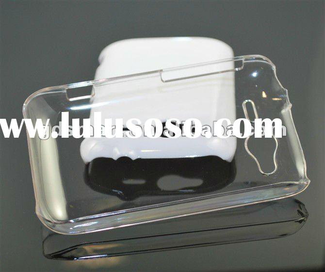 Clear Plastic Hard Crystal Back Cover Case For HTC Wildfire S G13 A510e Phone Accessory Shell