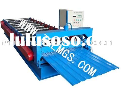 Colored Steel Sheet Roll Forming Machine used specially in Russia