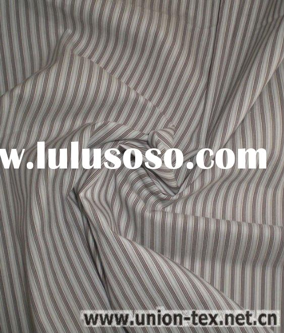 Cotton Nylon Spandex Yarn Dyed Fabric