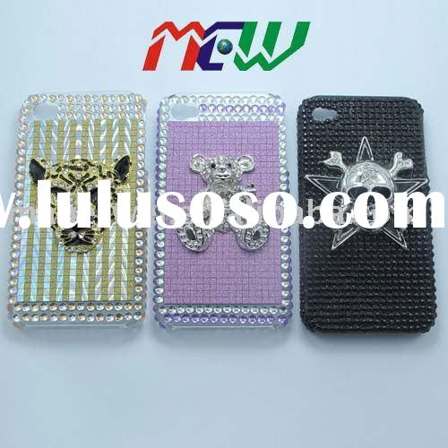 Crystal Rhinestone Bling Diamond Case For iPhone 4 4g