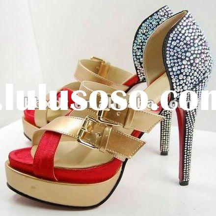 Crystals ladies fashion sandals summer 2012