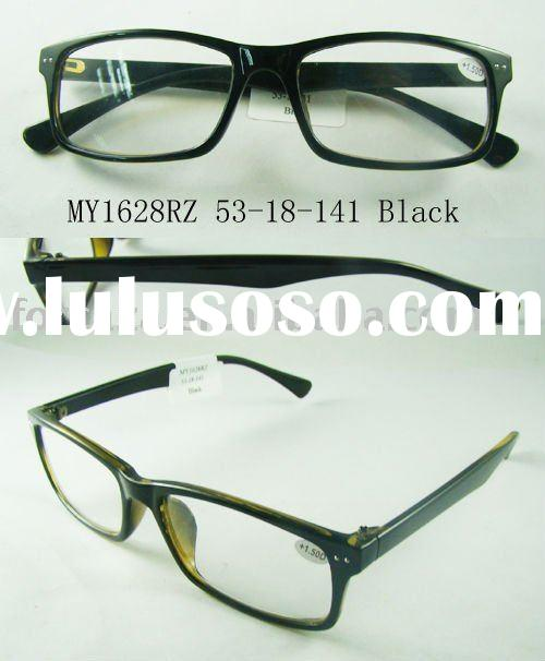 Cute big reading glasses, high quality plastic, full rim