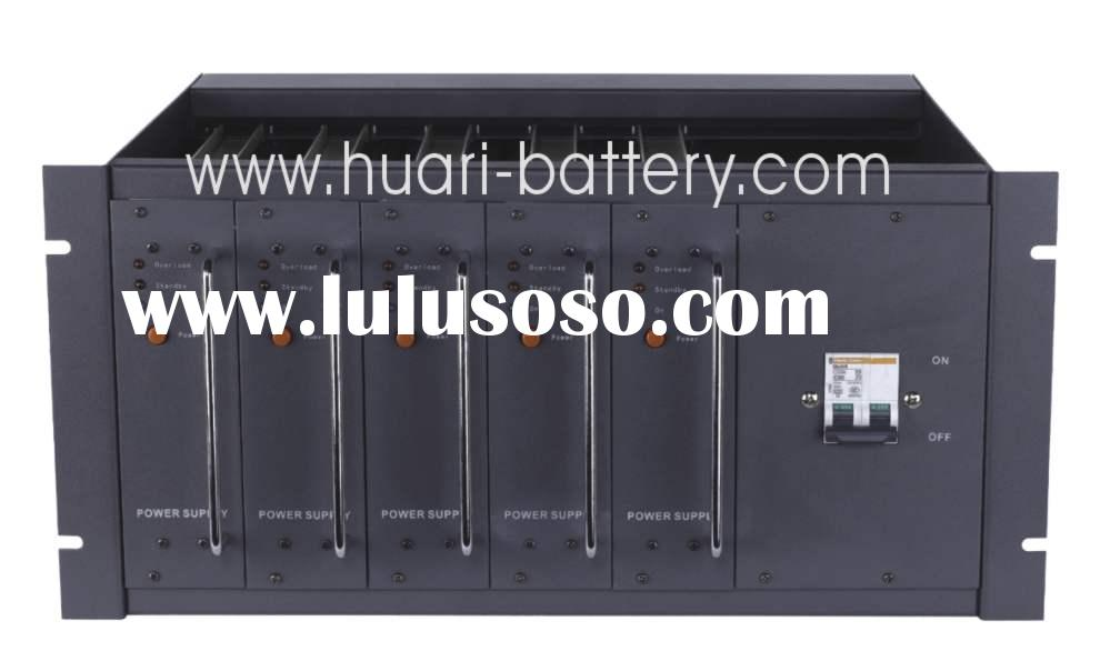 DC Telecom System power supply with Rectifier modules