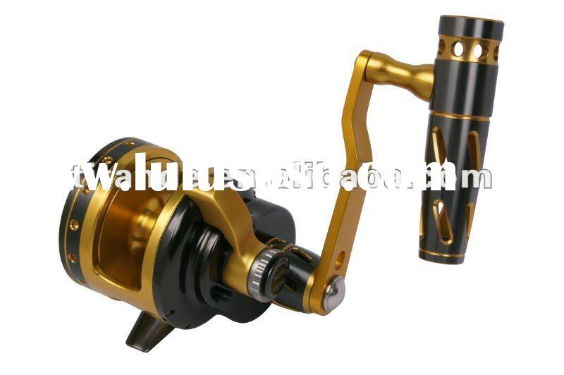 Deep sea fishing rod and reel (Q5B-2)