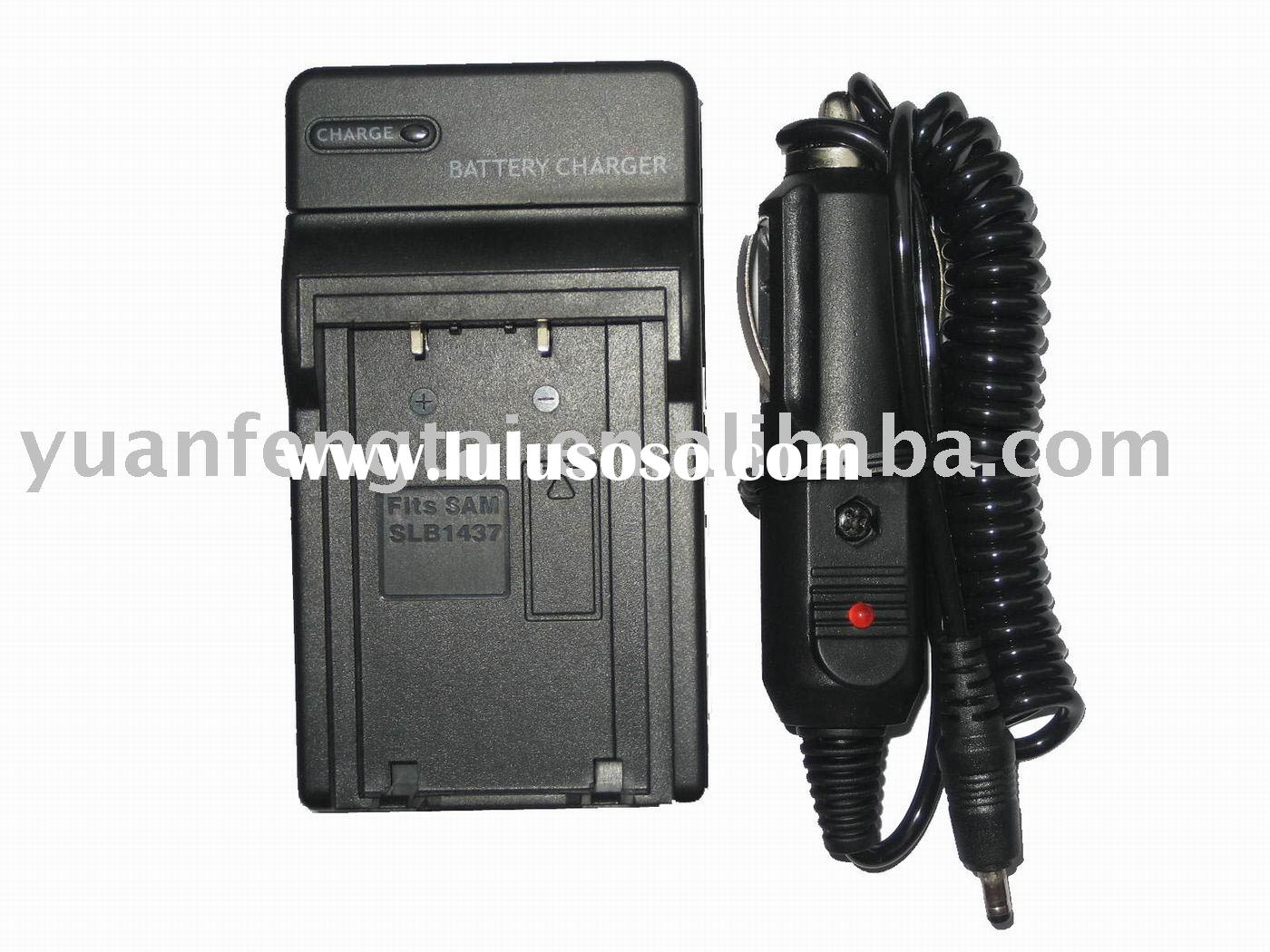 Digital Camera Battery Charger for Samsung SLB-1437