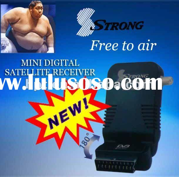Digital Satellite Receiver Free To Air strong mini av box used for Africa/Middle East Market