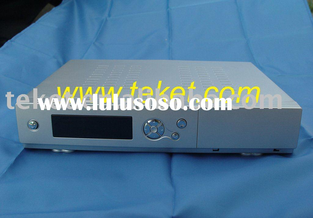 Digital Set Top Box Chassis for SOC System, Metal chassis, front panel for plastic parts, STB290