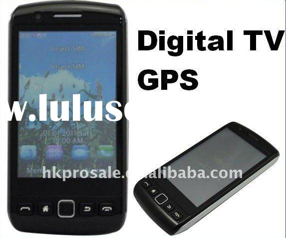 Digital TV mobile cell phone 2GB GPS WIFI cellphone unlocked 4 SIM Card phone 9860
