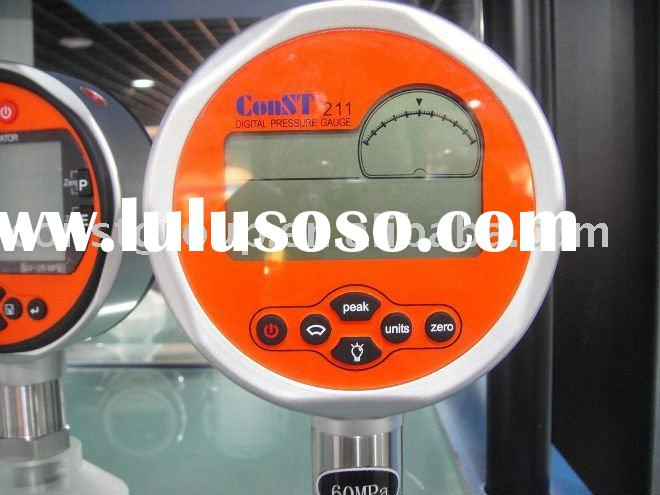 Digital vacuum pressure gauge (high accuracy manometer)