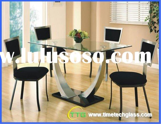 Dining Toughened Glass Table Top
