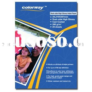 Dual Side High Glossy Inkjet Photo Paper& photo book paper