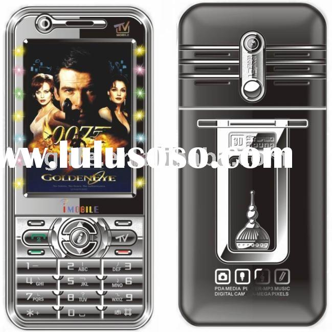 Dual sim card TV mobile phone A2688 ,high quality mobile phones in factory price