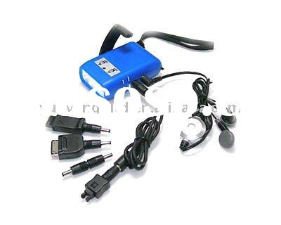 Dynamo LED Flashlight , Mobile Phone Chargers and FM Radio Function