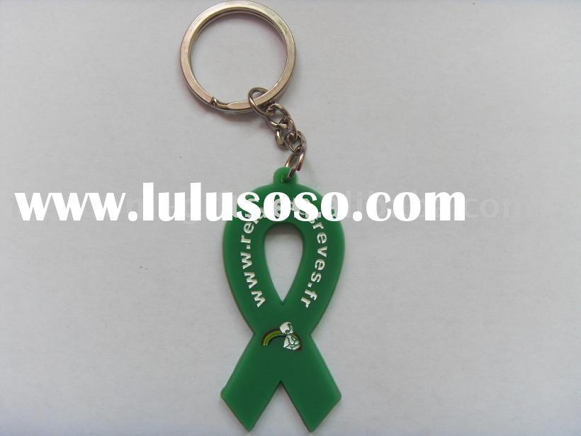 Eco-friendly Material Top Quality Silicone Key Chain,Silicone Keyring ,Silicone Key Holder,Soft Rubb