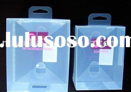 Eco-friendly clear plastic box for packaging