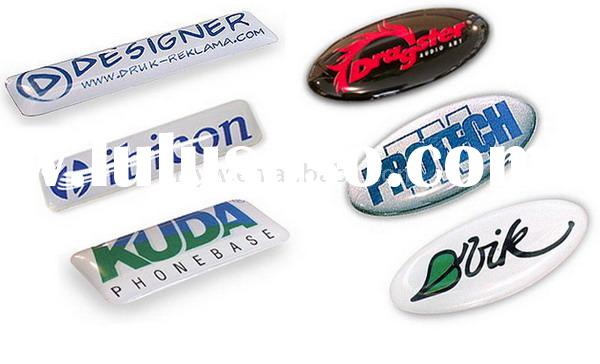 Epoxy sticker resin sticker dome sticker 3D sticker Crystal sticker printed sticker