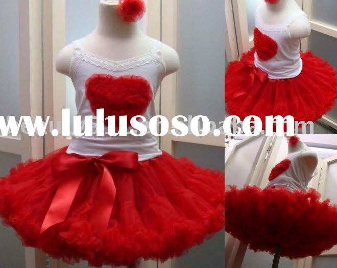 FLAH046 wholesale high quality flower dresses adult baby clothes baby girl dresses