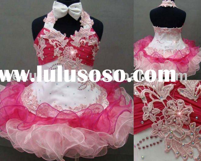 FLAH047 wholesale high quality flower dresses adult baby clothes baby girl ...