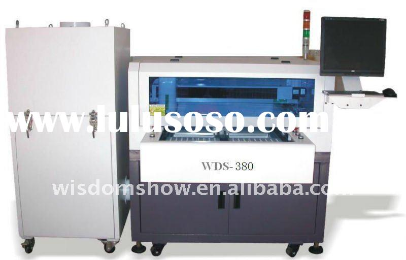 Fabric Laser PCB Cutting Machine / PCB and Stencil Making Machine With High Definition CCD Magnifier