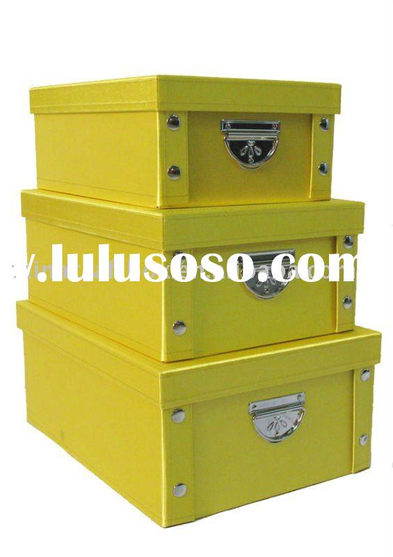 Fabric collapsible storage box/ foldable storage boxes