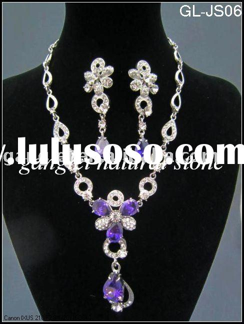Fashion Alloy Rhinestone Jewelry Sets/rhinestone bridal jewelry sets