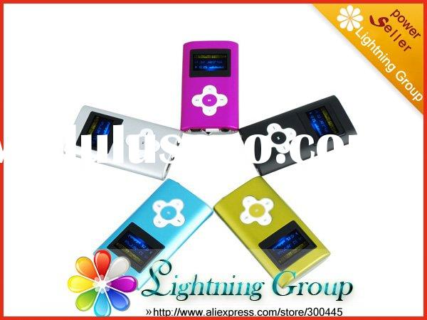 Fashion Mini MP3 Player With OLED Display And Speaker Digital Music Player