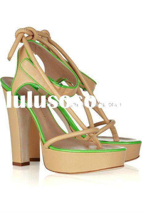 Fashion lady sandals ladies shoes women fashion shoes 2011