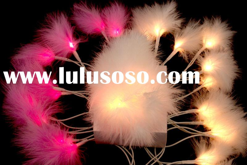 Feather- Christmas home decoration lights,
