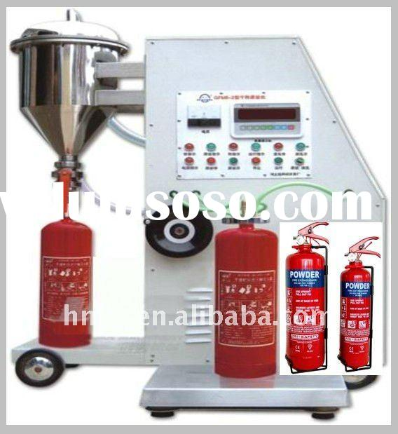Fire Extinguisher Dry Powder Filling Machine / extinguisher refilling machine/ Dry powder filling ma