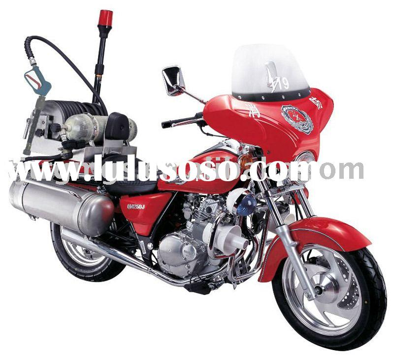 Fire Fighting Motorcycle( mounted with Water mist fire fighting equipment)