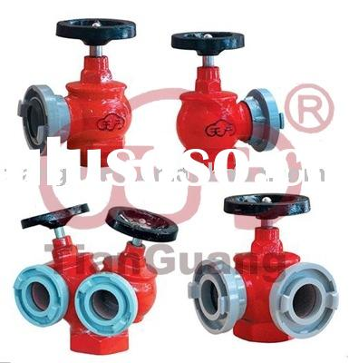 Fire Valve & Fire Hydrant & Fire Fighting Equipment,Double Outlet Valve,Indoor Fire Hydrant
