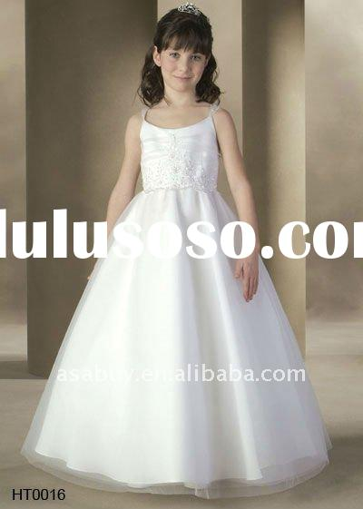 Flower Girl Dress Children Dress Girl's Dress for Wedding--HT0016