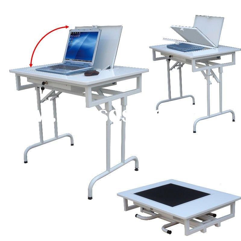 Folding Flip Laptop Computer Desk
