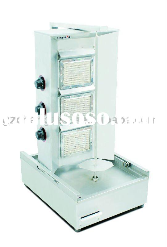 Food service equipment Gas shawarmer grill