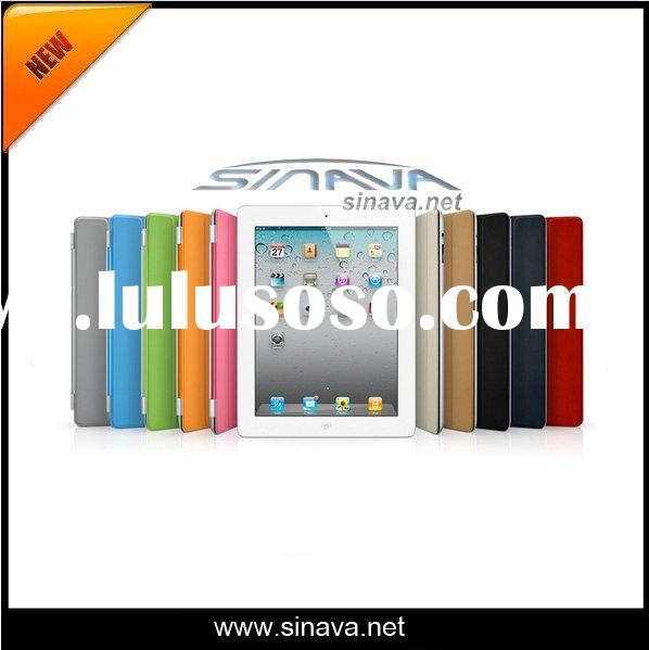 For Apple iPad 2 PU Leather Protective Case Cover with Stand/Magnetic Smart cover for iPad2
