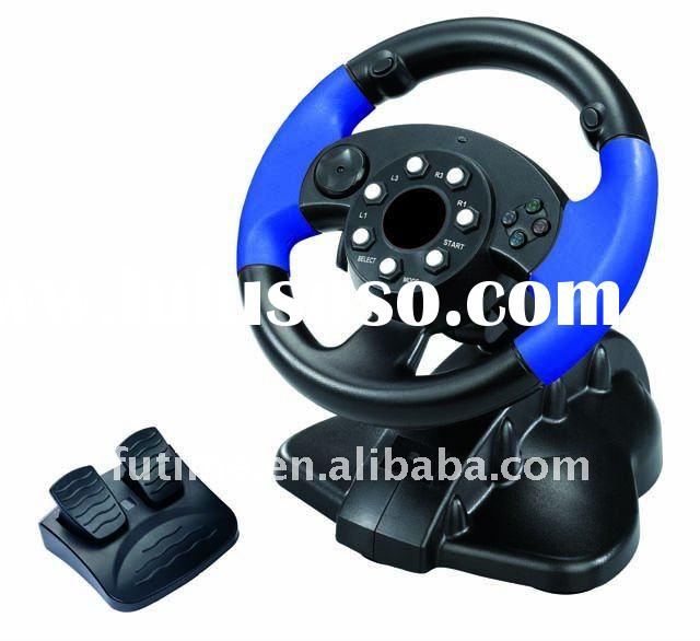 For XBOX360/PC Steering Wheel Controller for XBOX360/PC Wired Vibration racing Wheel-- FT33B3