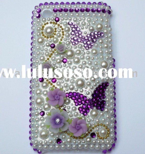 For iPhone 3G/3GS Jeweled Cell Phone Cases