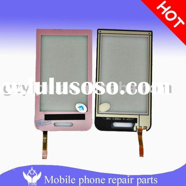 For samsung s5233 Star pink mobile phone parts/touch screen