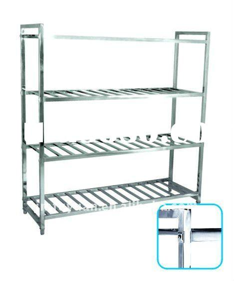 Four-tier Stainless Steel Storage Rack/Shelves
